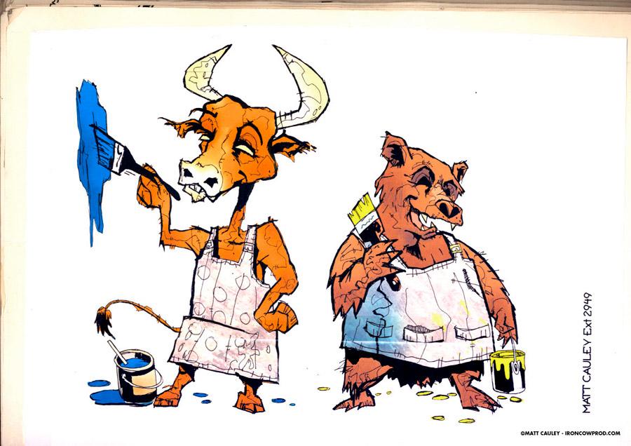 bullbear_paint